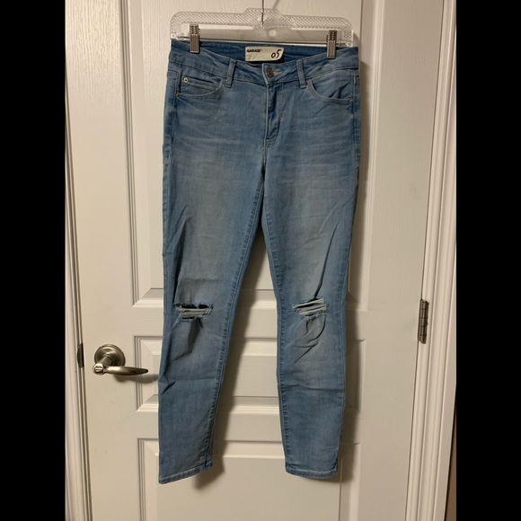 Light wash jeans (garage)